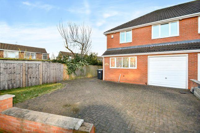 Thumbnail Semi-detached house for sale in Curzon Street, Long Eaton, Nottingham