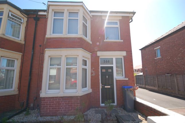 Thumbnail End terrace house to rent in Harcourt Road, Blackpool