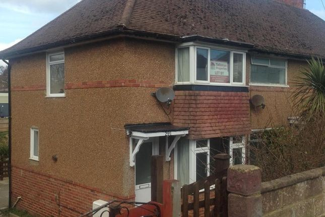 Thumbnail End terrace house to rent in London Road, Bexhill On Sea