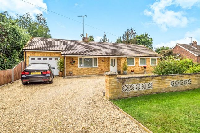 Thumbnail Detached bungalow for sale in Stratton Road, Hainford, Norwich