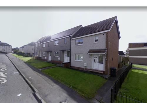 Thumbnail End terrace house to rent in Shiel Gardens, Shotts