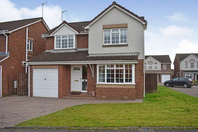 Thumbnail Detached house for sale in Oldwood Place, Livingston