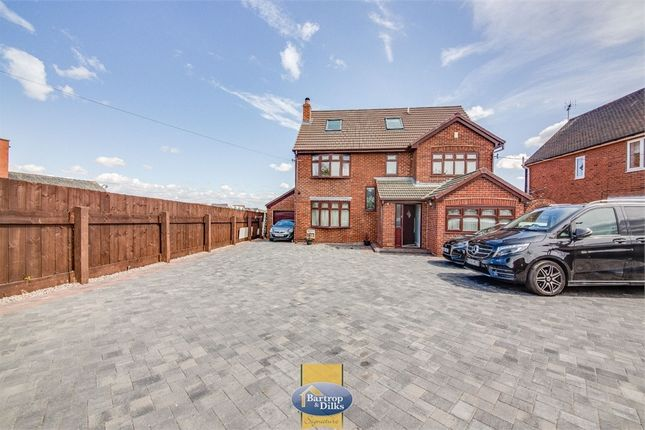 Thumbnail Detached house for sale in Doncaster Road, Carlton-In-Lindrick, Worksop, Nottinghamshire