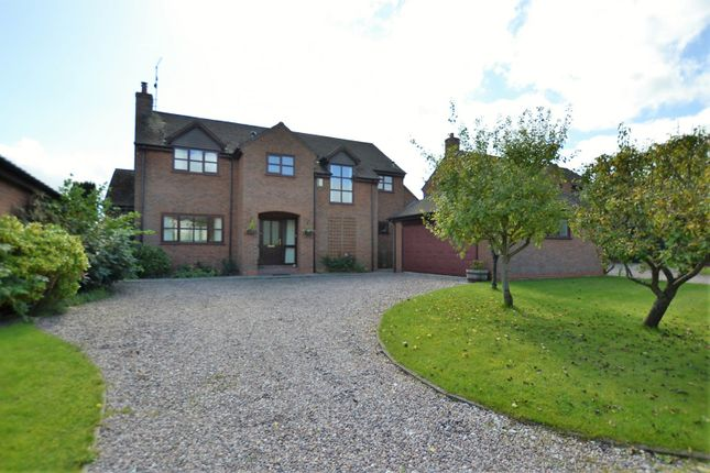 Thumbnail Detached house for sale in The Acreage, Goostrey, Crewe