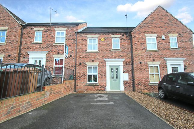 Town house in  Chester Court  Hemsworth  Pontefract  West Yorkshire  Sheffield