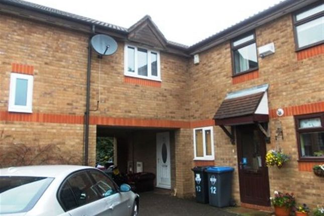 Thumbnail Terraced house to rent in Great Borne, Brownsover, Rugby
