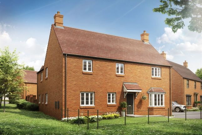 "Thumbnail Detached house for sale in ""The Edgcote"" at Heathencote, Towcester"