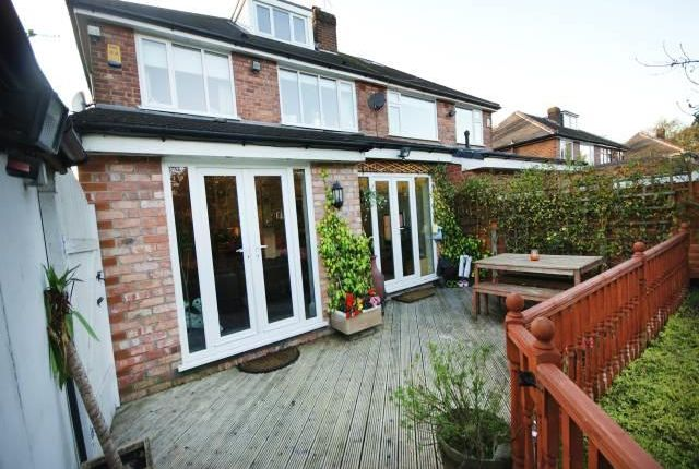 Thumbnail Semi-detached house to rent in Briarfield Road, Worsley