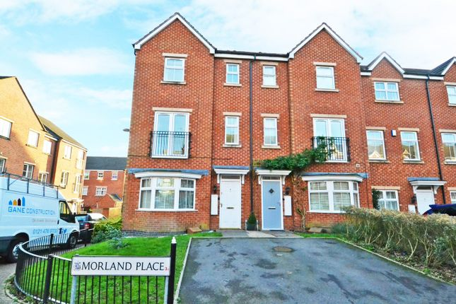 Thumbnail Town house to rent in Morland Place, Birmingham