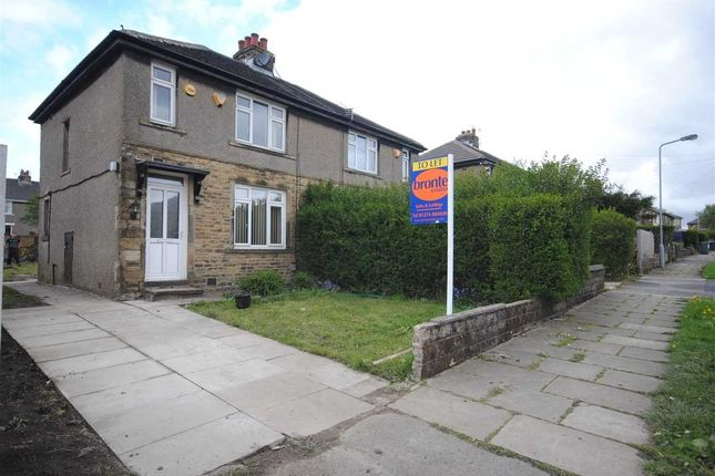 Thumbnail Semi-detached house to rent in Eastbury Avenue, Bradford