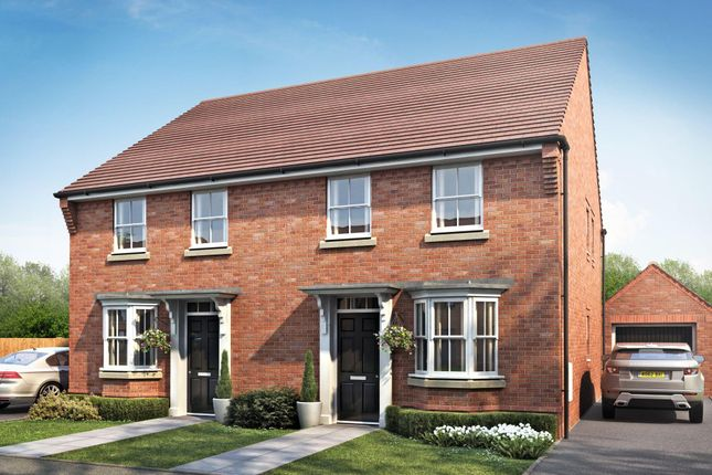 "Thumbnail Semi-detached house for sale in ""Oakfield"" at Cadhay, Ottery St. Mary"