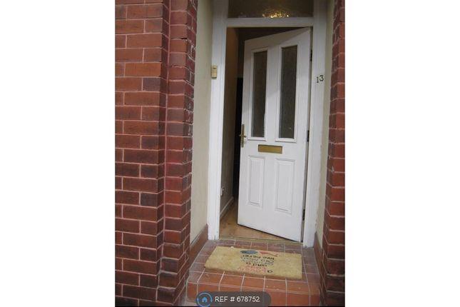 Front Door of Bankfield Avenue, Longsight, Manchester M13