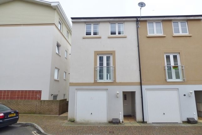 Thumbnail End terrace house to rent in Oak Hill Road, Torquay