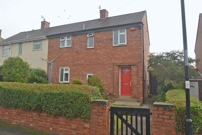 Semi-detached house for sale in Harnham Avenue, North Shields
