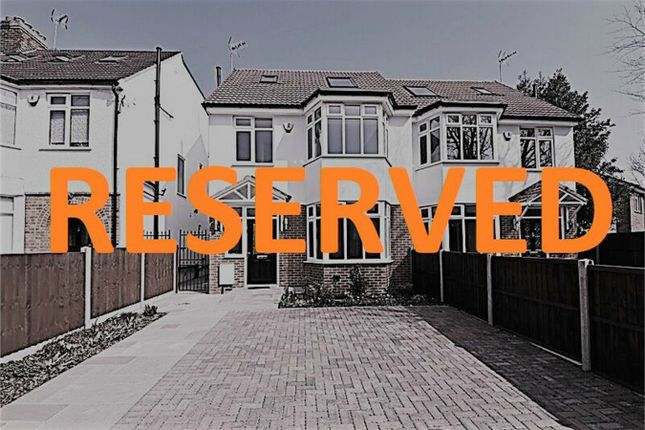 Thumbnail Semi-detached house for sale in Dollis Road, Mill Hill, London