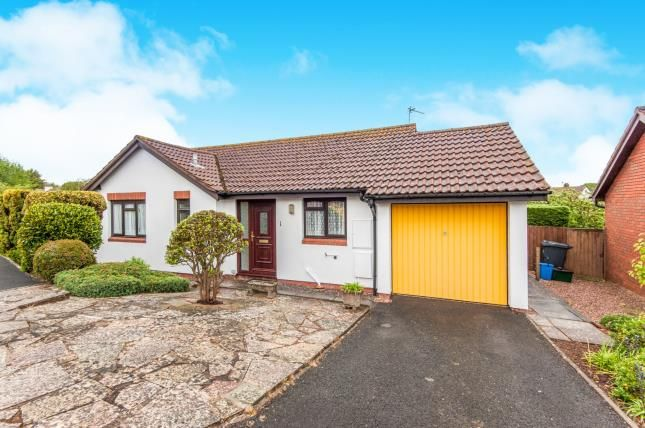 Thumbnail Bungalow for sale in Budleigh Salterton, Devon