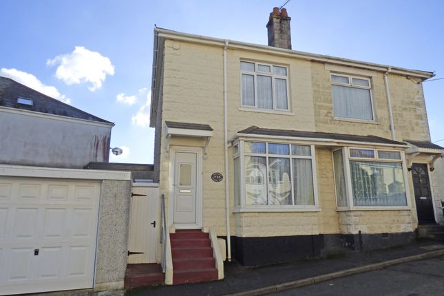 Thumbnail Semi-detached house for sale in Marine Road, Orston, Plymouth, Devon