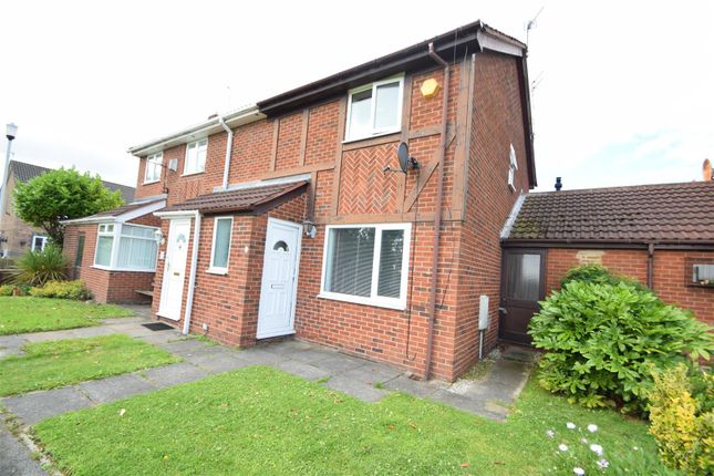 Thumbnail Semi-detached house for sale in Scythia Close, New Ferry, Wirral