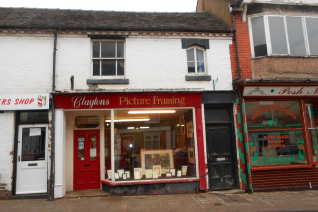 Commercial property for sale in Clayton's Picture Framing, 15B Stafford Street, Market Drayton