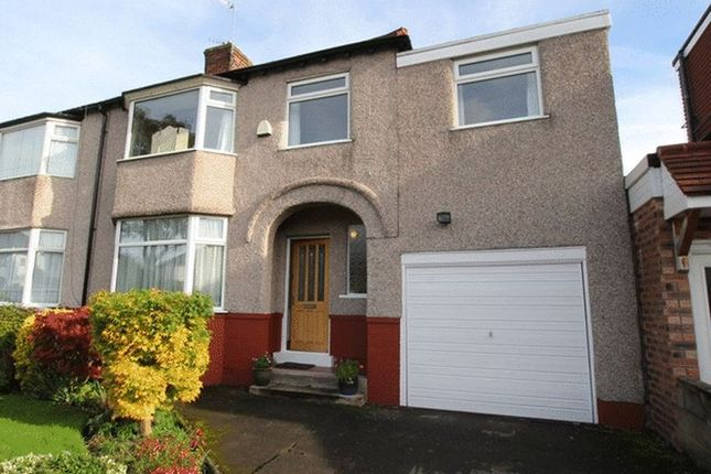 Thumbnail Semi-detached house for sale in South Mossley Hill Road, Grassendale, Liverpool
