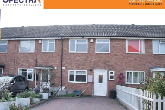 Thumbnail Terraced house to rent in Falkland Croft, Stirchley, Birmingham