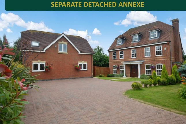 Thumbnail Detached house for sale in Chestnut Drive, Oadby, Leicester