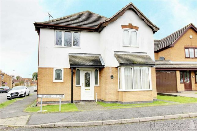 Thumbnail Detached house to rent in Chatsworth Close, Chesterfield, Derbyshire