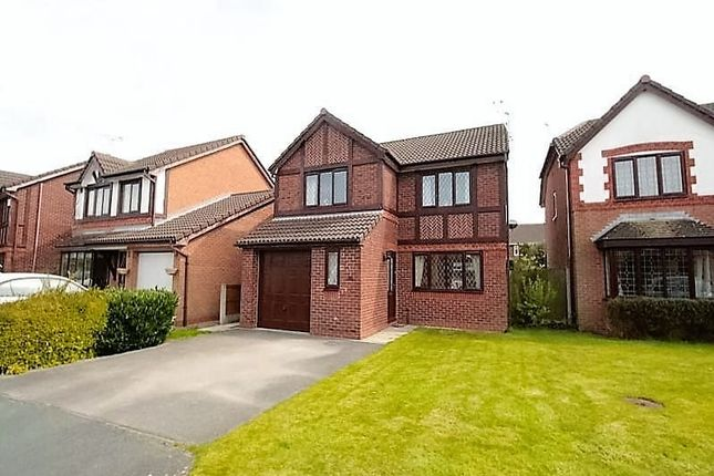 Thumbnail Detached house for sale in Mouldsworth Close, Northwich
