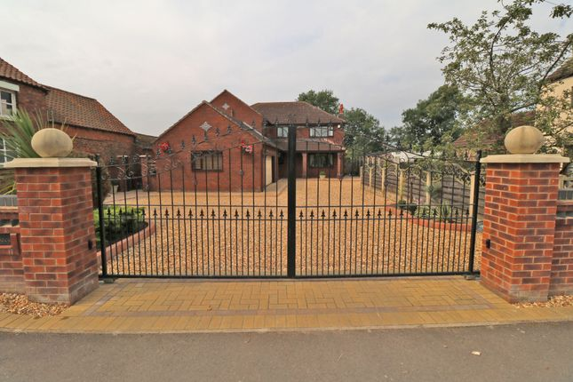 Thumbnail Detached house for sale in Newbigg, Crowle, Scunthorpe
