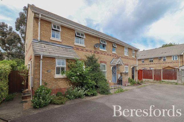Thumbnail End terrace house for sale in Chinook, Highwoods, Colchester, Essex