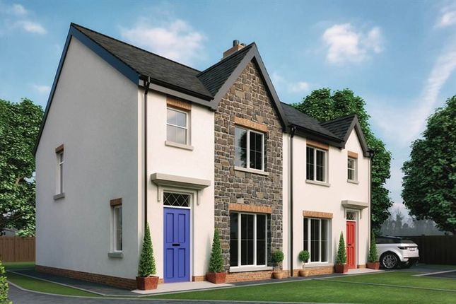 Thumbnail Semi-detached house for sale in 9, Forthill Lane, Bangor