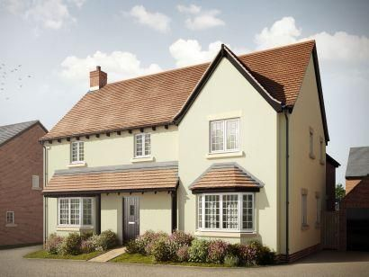 Thumbnail Detached house for sale in St Marys At Kingsfield, Bromham Road, Biddenham