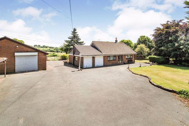 Thumbnail Detached bungalow for sale in Leek Road, Werrington