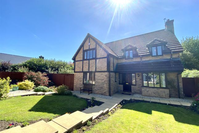 Thumbnail Detached house for sale in Manor View, St. Arvans, Chepstow