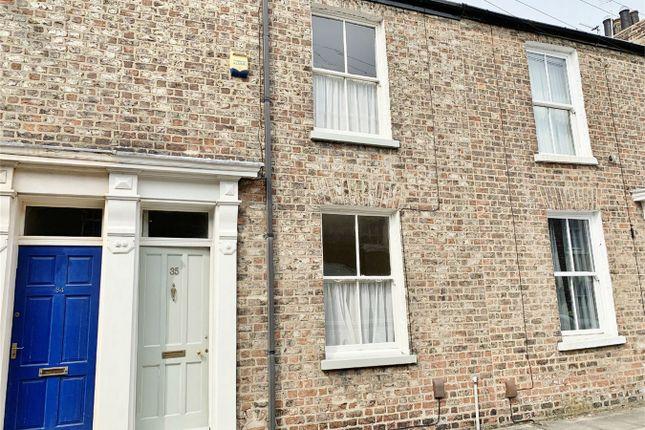 Thumbnail Terraced house to rent in Fairfax Street, York