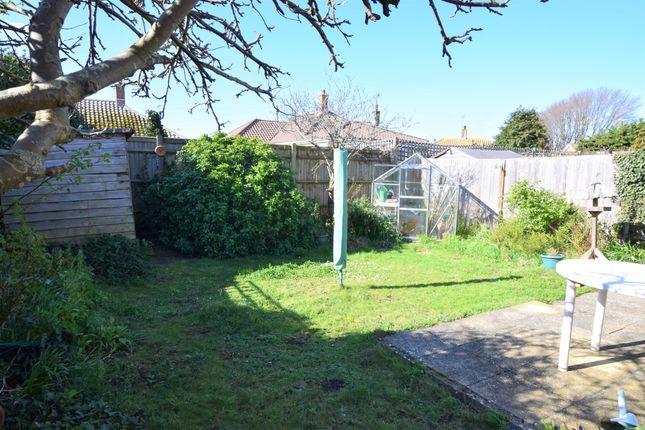 Rear Garden of Val Prinseps Road, Pevensey Bay BN24