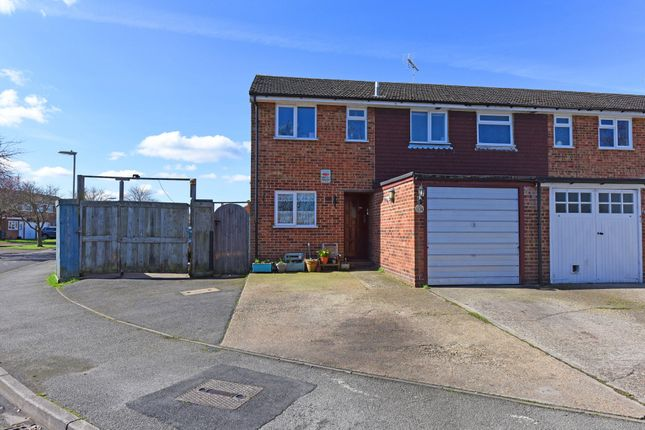 Thumbnail End terrace house for sale in Christchurch Drive, Blackwater, Camberley