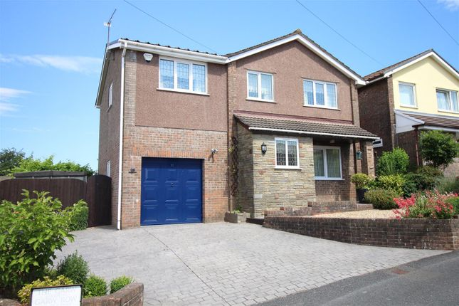Thumbnail Detached house for sale in The Garw, Croesyceiliog, Cwmbran