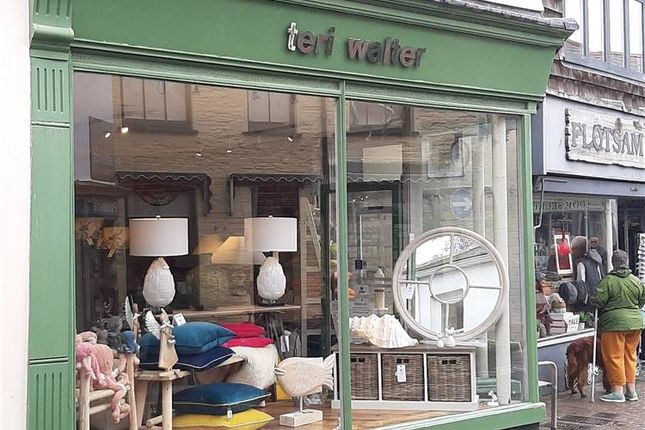 Thumbnail Retail premises to let in Fentonluna Gardens, High Street, Padstow