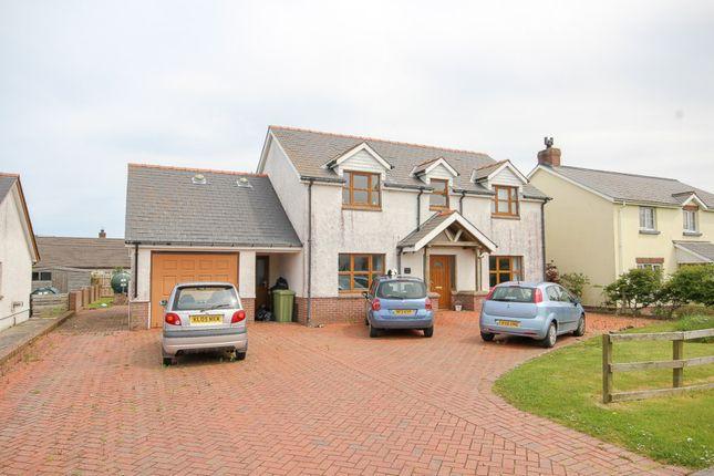 Thumbnail Detached house for sale in Clos-Y-Gwyddil, Cardigan