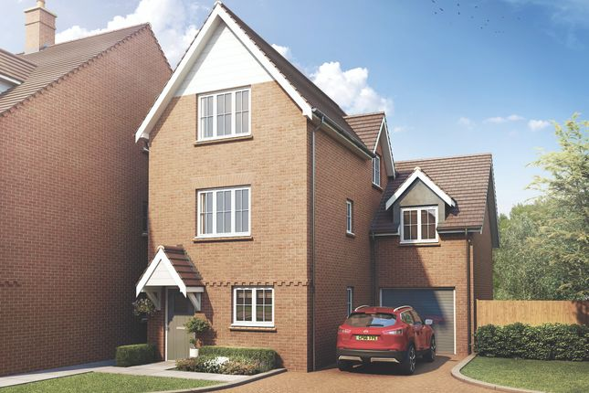 Thumbnail Detached house for sale in Simmons Way, Lane End