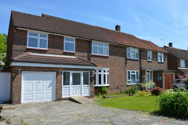 Semi-detached house for sale in Tees Drive, Romford