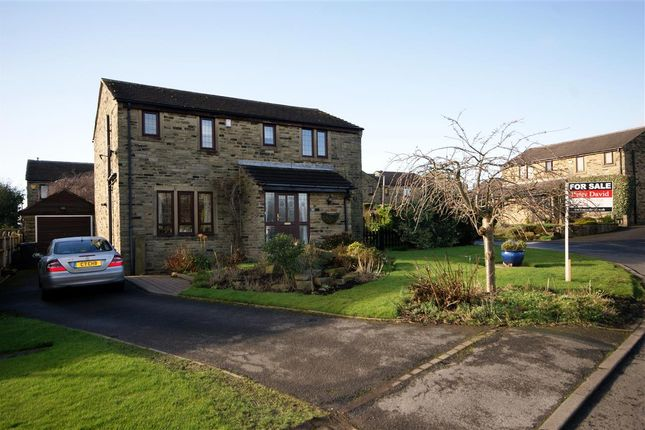 Thumbnail Detached house for sale in Highley Park, Clifton, Brighouse