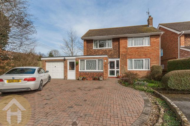 Thumbnail Detached house for sale in Bradene Close, Royal Wootton Bassett, Swindon