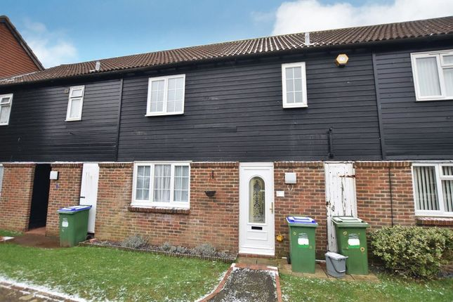 Thumbnail Terraced house to rent in Trafalgar Close, Peacehaven