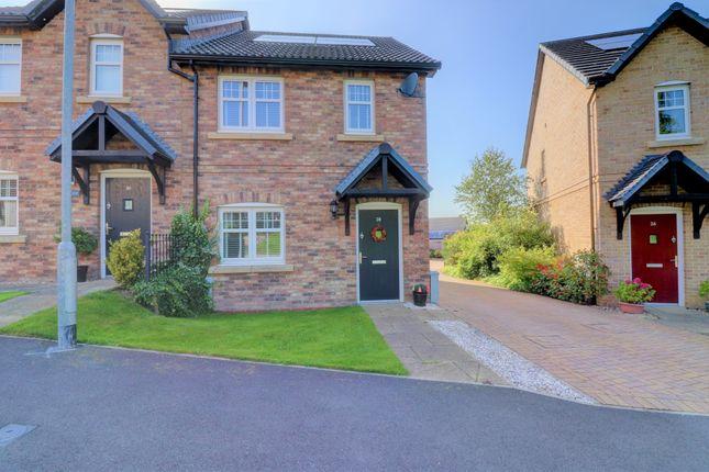 Thumbnail Semi-detached house for sale in Frazer Road, Consett