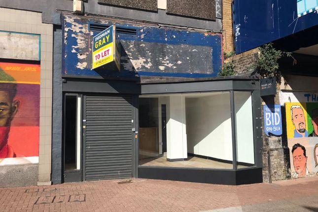 Thumbnail Retail premises to let in High Street, Southend-On-Sea