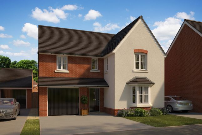 "Thumbnail Detached house for sale in ""Lullingstone"" at The Walk, Withington, Hereford"