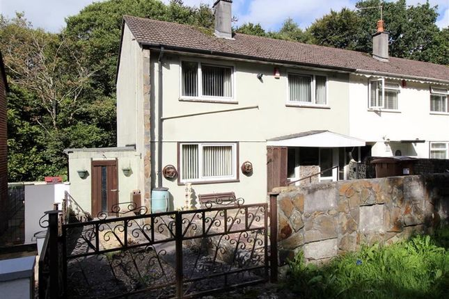 Thumbnail End terrace house for sale in St Pancras Avenue, Pennycross, Plymouth