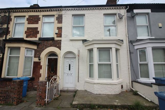 Thumbnail Terraced house to rent in Parkinson Road, Walton, Liverpool